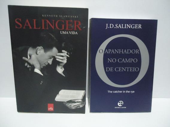 Livro Salinger/o Apanhador No Campo De Centeio (2 Livros)