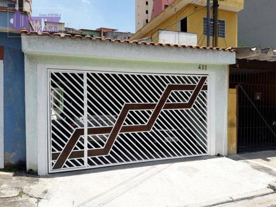 Casa Com 3 Dormitórios À Venda, 186 M² Por R$ 490.000,00 - Vila Valparaíso - Santo André/sp - Ca0157