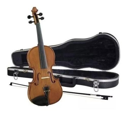Imagen 1 de 1 de Violin Cremona 4/4 Outfit Sv-188 Tapa Solida Con Estuche
