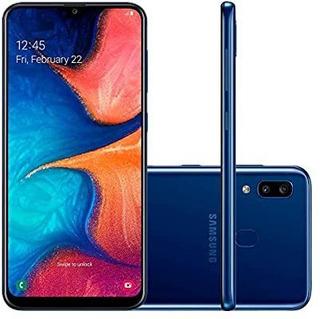 Smartphone Samsung Galaxy A20, 32gb, Tela 6.4