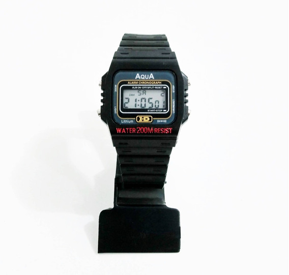 10 Relógios Aqua Aq-37 ( Resistente À Água ) Atacado!
