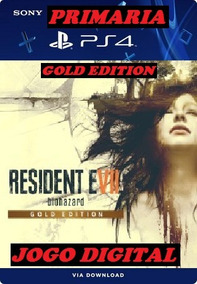 Resident Evil 7 Gold Edition Ps4 Midia Digital Original 1º
