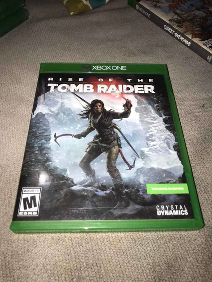 Rise Of The Tomb Raider Xbox One!!!