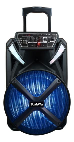 Caixa de som Sumay X-Prime 600BT portátil sem fio Preto