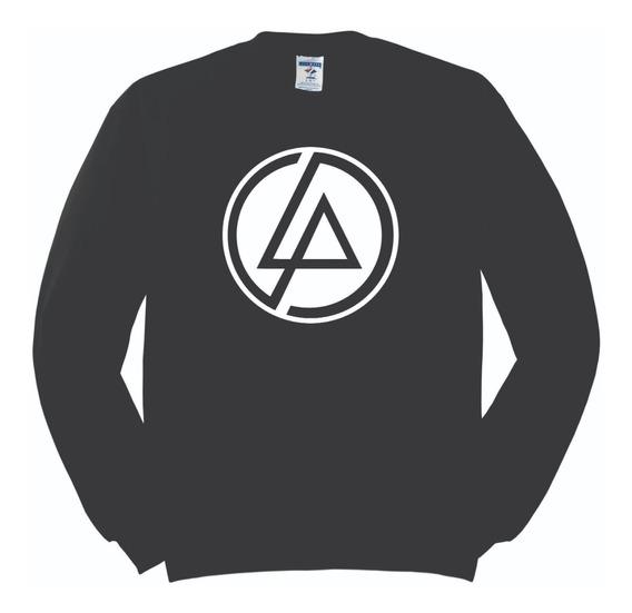 Sudadera Linkin Park Logo Nuevo Hombre Mujer