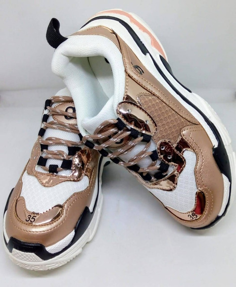 Zapatillas Mujer Urbanas Gummi Art Balen Zona Zapatos
