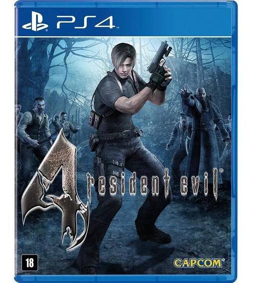 Jogo Ps4 Resident Evil 4 Midia Física