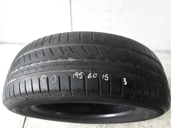 Pneu Pirelli P1 Cinturato 195/60/15 (meia Vida Usado)