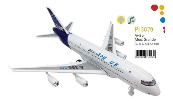 Miniatura De Avião Comercial Novo Pronta Entrega Pica Pau