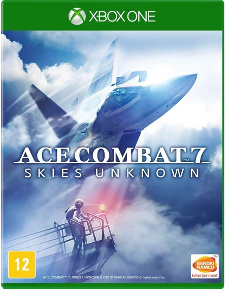 Jogo Ace Combat 7 Xbox One Midia Fisica Original Promoção