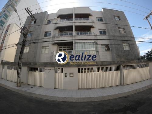Apartamento Composto Por 02 Quartos Com Uma Área  Externa Super Ampla Excelente Localização Na Praia Do Morro - Ap00733 - 68348731