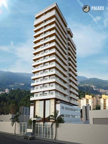 Imagem 1 de 13 de Apartamento Com 3 Dormitórios À Venda, 94 M² Por R$ 598.000,00 - Aviação - Praia Grande/sp - Ap1708