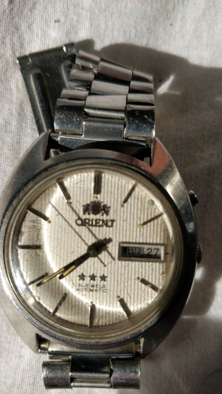 Relogio Orient Automatico 21 Jewels Branco 94