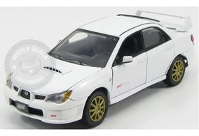 Miniatura Subaru Impreza Wrx Sti 2006 Branco 1/24 Motormax