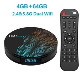Smart Tv Box Hk1 Max 4k / 4gb Ram / 64gb Dual Band 2.4/5g