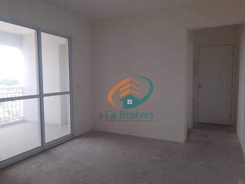 Apartamento Com 3 Dormitórios À Venda, 72 M² Por R$ 426.000,00 - Vila Leonor - Guarulhos/sp - Ap3581