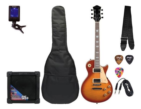 Kit Guitarra Tagima Memphis Les Paul Mlp 100 P R O M O Ç Ã O