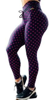 Calça Legging Empina Bumbum Cintura Alta Fitness Feminina