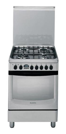 Cocina Inox Mixta Ariston 60 Cm F080996
