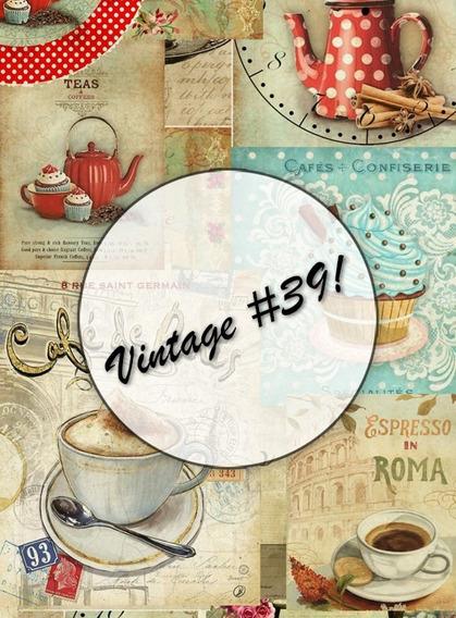 Láminas Decoupage Papel Ilustración 150 Grs - Vintage Retro
