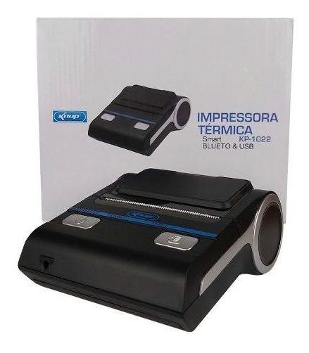 Impressora Térmica Bluetooth Usb Portátil Smart Kp-1022