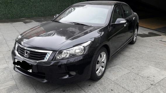 Honda Accord Ex 3.5 V6 Automatico Preto 2009 Blindado