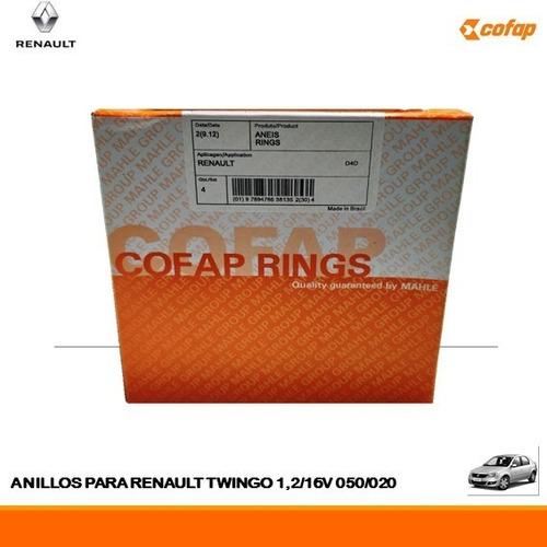 Anillos De Renault Twingo 1,2/16v  050/020 (69,00mm)
