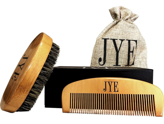Cepillo Y Peine Kit Para Barba Y Bigote Edicion Especial Jye