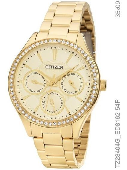 Relógio Quartz Feminino Citizen Tz28404g