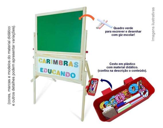 Lousa Quadro Magnético Brinquedo Educativo Crianças