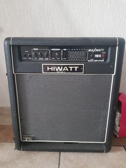 Amplificador De Baixo 100rms B100 Hiwatt