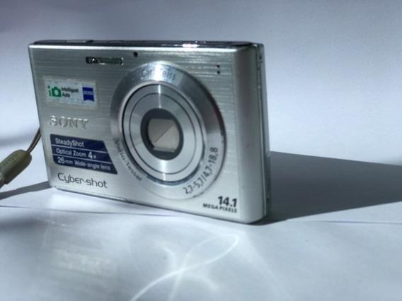 Câmera Sony Dsc-w330 Prata