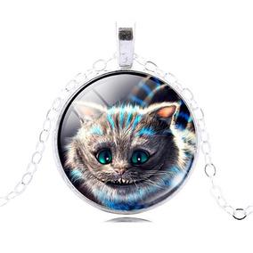 Colar Gato Cheshire Alice No País Das Maravilhas