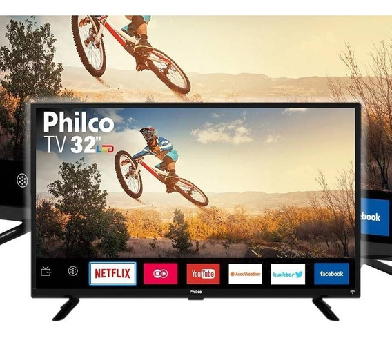 Smart Tv Led 32 Philco Ptv32g50sn - Wi-fi Hdmi Usb
