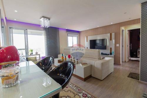 Apartamento Com 3 Dormitórios À Venda, 70 M² Por R$ 600.000,00 - Ferreira - São Paulo/sp - Ap0941