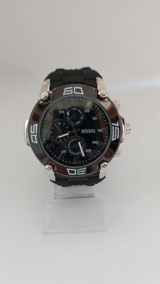 Relógio Novana Masculino Casual