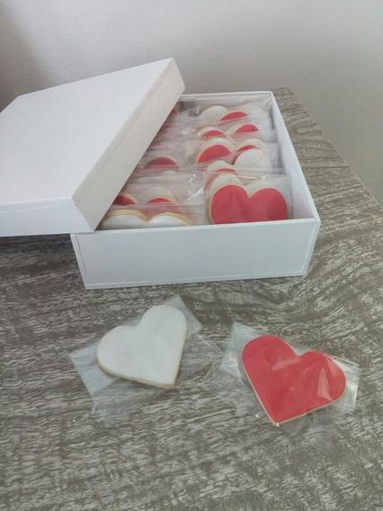 Caja De Te Con Galletitas Dia De Los Enamorados