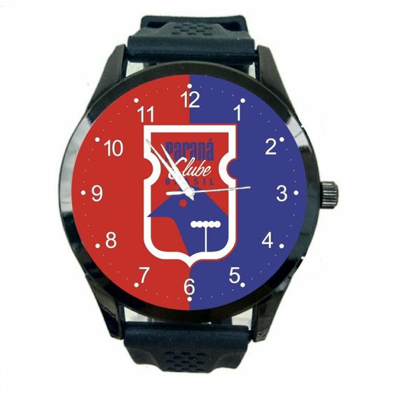 Relógio Paraná Clube Masculino Futebol Esporte Time Fc T658