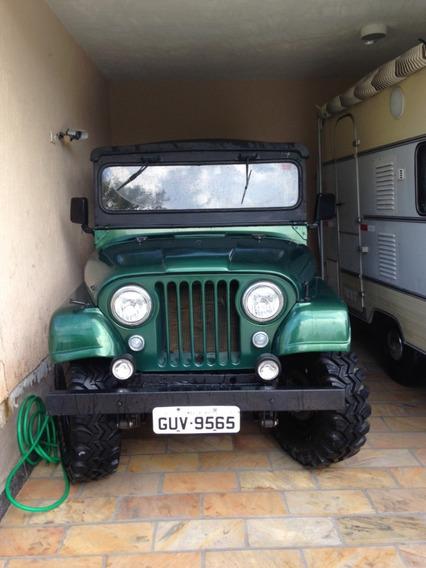 Jeep Willys Cj5 1963 4cc (opala), 5 Marchas 4x4 + Reduzida