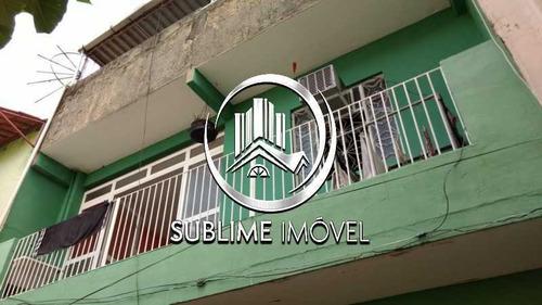 Ótima Casa À Venda Em São João De Meriti Com Dois Quartos Com Suíte - Sicv30002