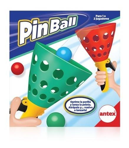 Juego Pinball Lanzadores Y Pelota En Caja
