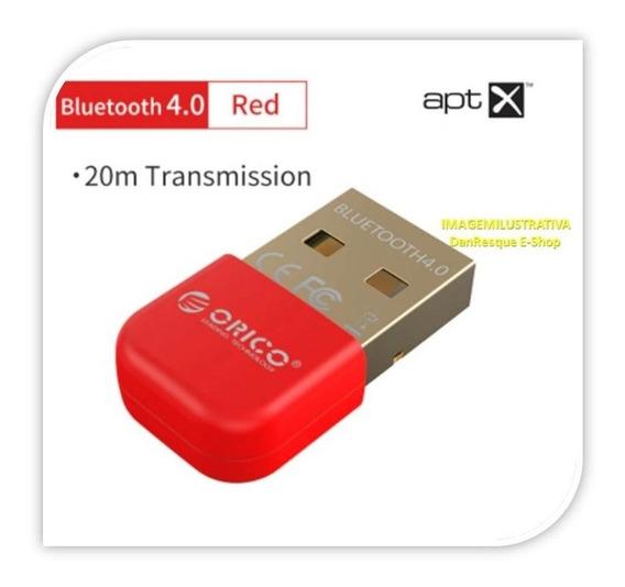 Adaptador Bluetooth 4.0 Orico Vermelho Ps3 4