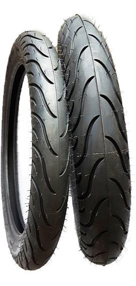 Par Pneu Michelin 275-18+100/90-18 Pilot Street Factor Titan