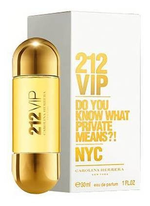 Imagen 1 de 1 de Perfume 212 Vip Edp 30 Ml