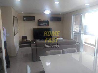 Apartamento No Supremo Com 3 Dormitórios À Venda, 108 M² Por R$ 850.000 - Vila Augusta - Guarulhos/sp - Ap1345