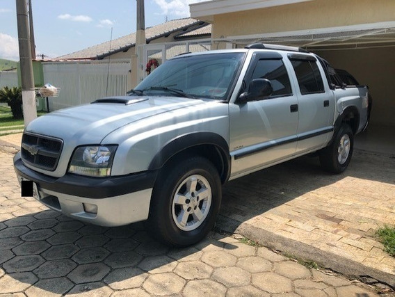 Chevrolet S10 Cd 2.8 Diesel Ano 2007 Completo Top