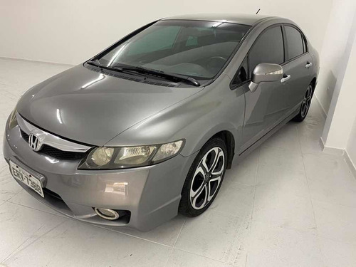 Honda Civic Lxl Se 1.8 Flex Manual 2011 Cinza Revisado