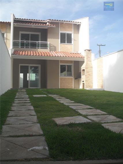 Sobrado Residencial À Venda, Divineia, Aquiraz. - Codigo: Ca0175 - Ca0175