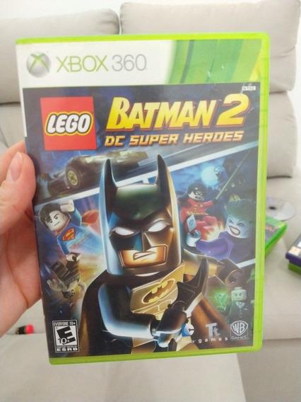 Lego Batman Dc Super Heroes Xbox 360