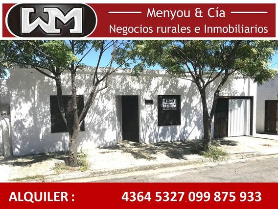 Alquiler Casa Trinidad Flores 2 Dormitorios Garaje Y Patio